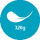 320 g