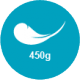 450 g